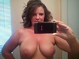 Carrie selfie: Her first selfie