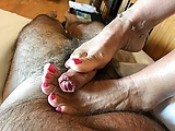 Big time foot fetish.: Who's into it? That won…