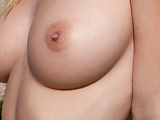 Perky Today: My tits exposed on a nice day