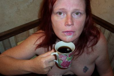 """""""a little cream with yer coffee, miss?"""""""