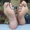 Soles and toes: Sofa