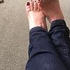 The wife's feet: The wife's feet she loves…