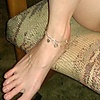 Sexy toes : BBC bracelet just makes it better