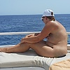 boottour: sunbathing