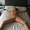 wife: tied to be ready for some hard fun