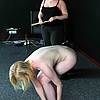 GETTING READY FOR A SPANKING: SPANKED BY ANOTHER W…